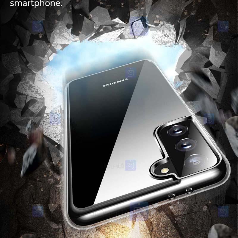 قاب محافظ ژله ای 5 گرمی کوکو سامسونگ COCO Clear Jelly Case For Samsung Galaxy S21
