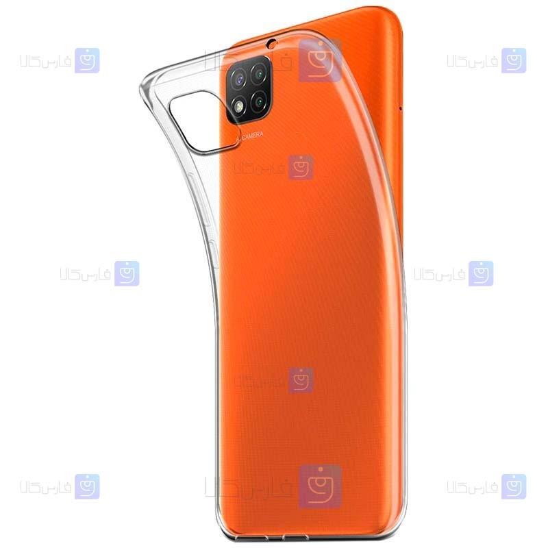 قاب محافظ ژله ای 5 گرمی کوکو شیائومی COCO Clear Jelly Case For Xiaomi Poco C3