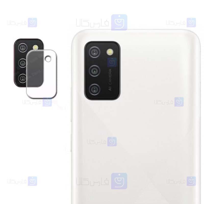 محافظ لنز شیشه ای دوربین سامسونگ Camera Lens Glass Protector For Samsung Galaxy A02s