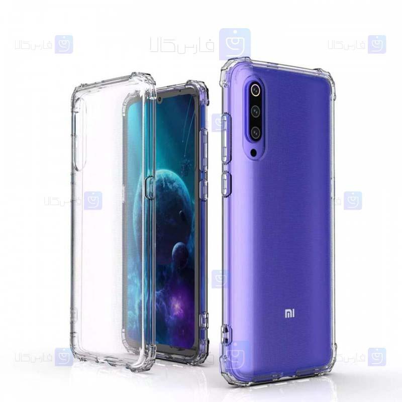 قاب محافظ ژله ای کپسول دار 5 گرمی شیائومی Clear Tpu Air Rubber Jelly Case For Xiaomi Mi 9