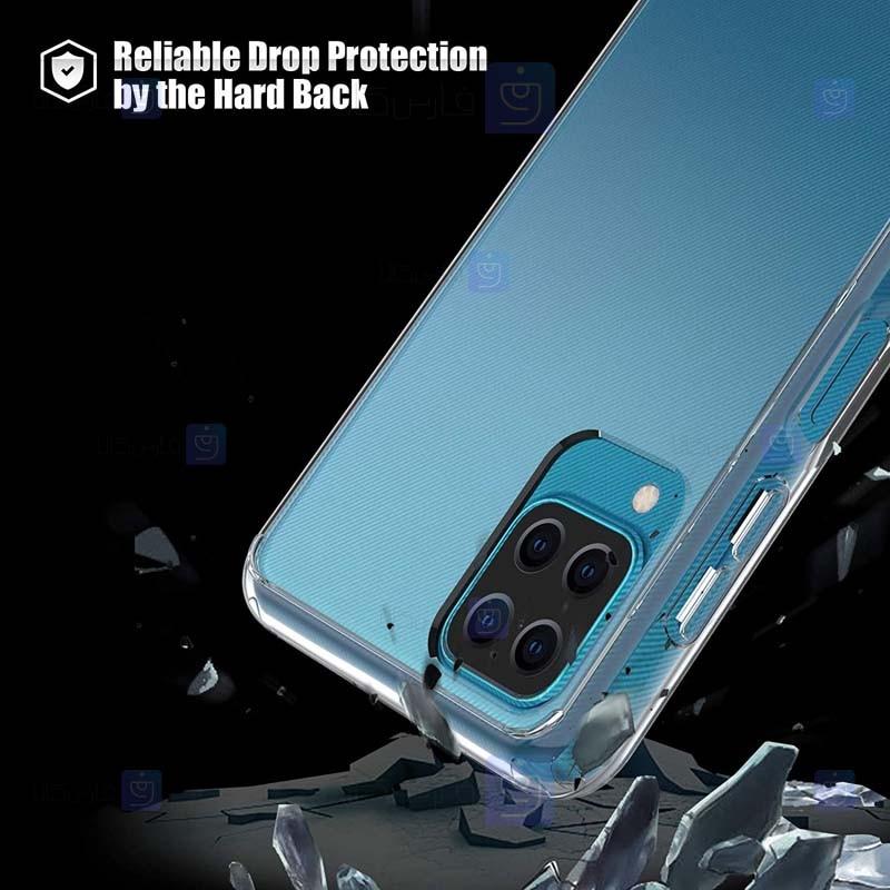 قاب محافظ ژله ای 5 گرمی کوکو سامسونگ Coco Clear Jelly Case For Samsung Galaxy A12