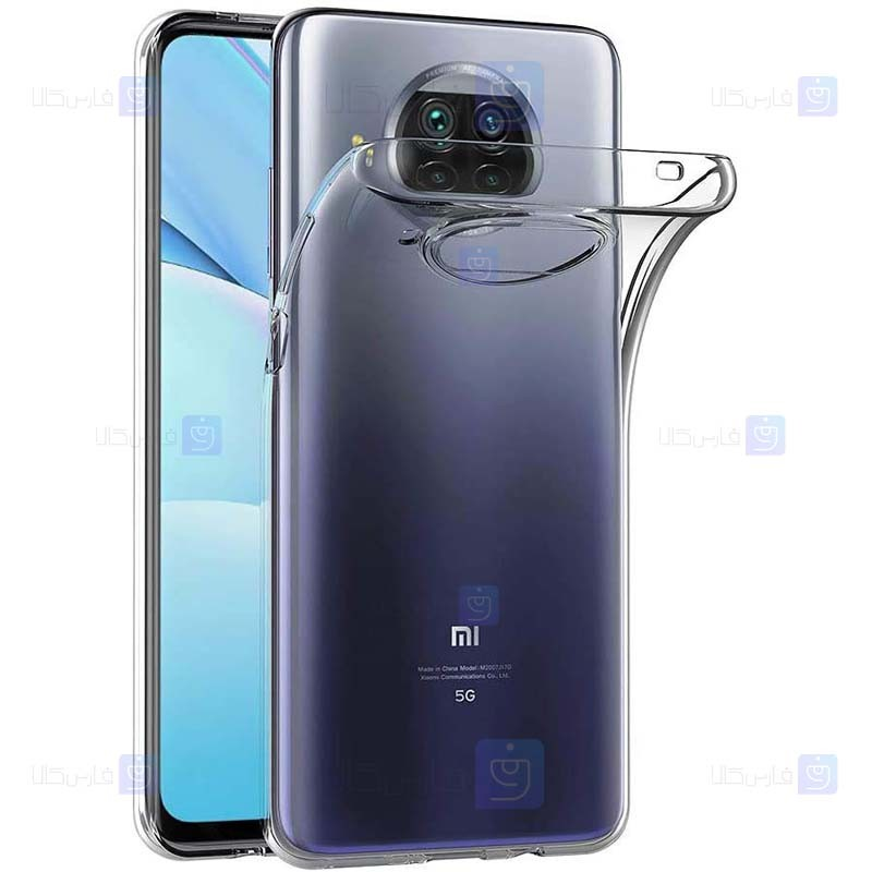 قاب محافظ ژله ای 5 گرمی کوکو شیائومی Coco Clear Jelly Case For Xiaomi Mi 10T Lite 5G