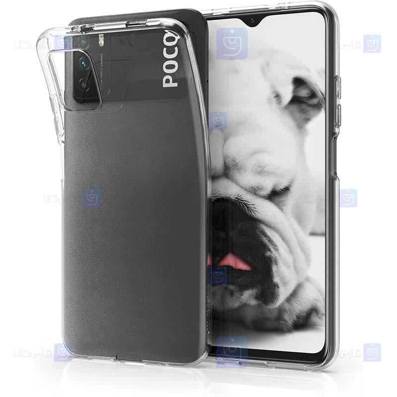 قاب محافظ ژله ای 5 گرمی کوکو شیائومی Coco Clear Jelly Case For Xiaomi Poco M3