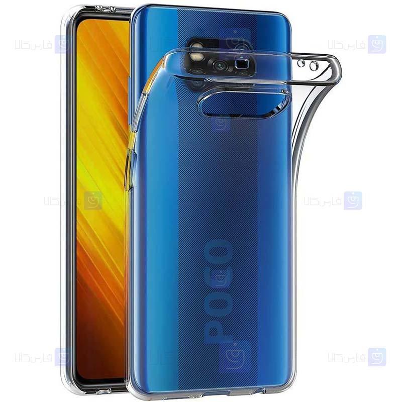 قاب محافظ ژله ای 5 گرمی کوکو شیائومی Coco Clear Jelly Case For Xiaomi Poco X3 NFC