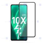 محافظ صفحه نمایش تمام چسب با پوشش کامل هواوی Full Glass Screen Protector For Huawei Honor 10X Lite