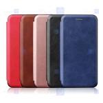 کیف محافظ چرمی سامسونگ Leather Standing Magnetic Cover For Samsung Galaxy A90