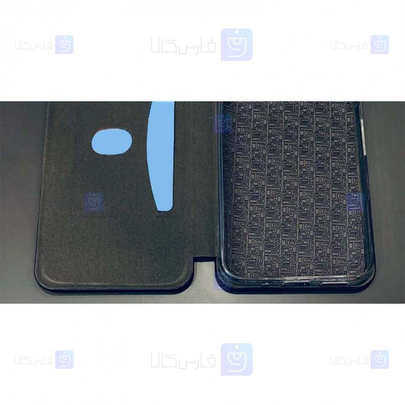 کیف محافظ چرمی سامسونگ Leather Standing Magnetic Cover For Samsung Galaxy C7