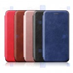 کیف محافظ چرمی سامسونگ Leather Standing Magnetic Cover For Samsung Galaxy J5 Prime