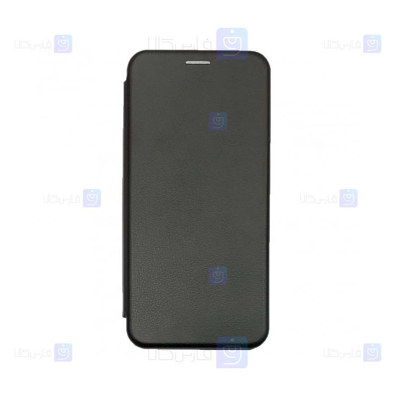 کیف محافظ چرمی سامسونگ Leather Standing Magnetic Cover For Samsung Galaxy S10 Lite 2020