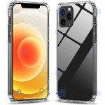 قاب محافظ پشت کریستالی کپسول دار اپل Manger Transparent Air Rubber Case For Apple iPhone 12 Pro