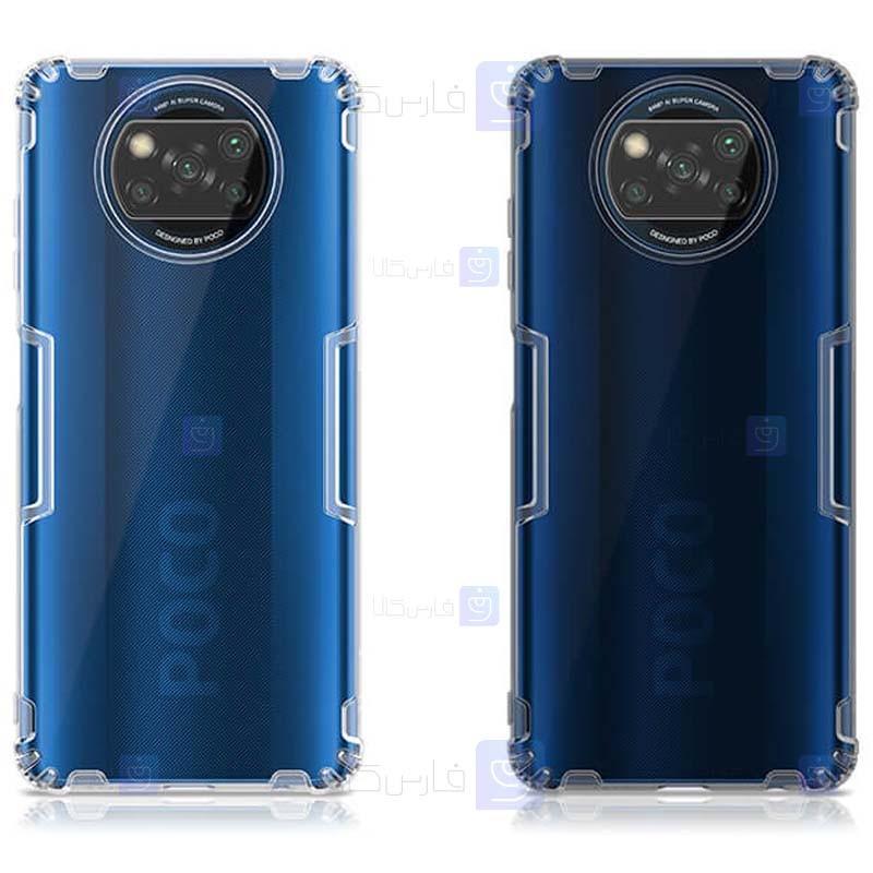 قاب محافظ ژله ای نیلکین شیائومی Nillkin Nature Series TPU case for Xiaomi Poco X3 NFC