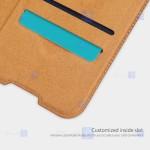 کیف محافظ چرمی نیلکین سامسونگ Nillkin Qin Case For Samsung Galaxy A42 5G