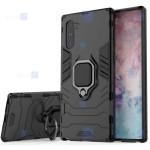 قاب محافظ ضد ضربه انگشتی سامسونگ Ring Holder Iron Man Armor Case Samsung Galaxy Note 10