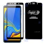 گلس گوشی سامسونگ Super D Full Glass Screen Protector For Samsung Galaxy A7 2018