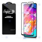 گلس گوشی سامسونگ Super D Full Glass Screen Protector For Samsung Galaxy A70