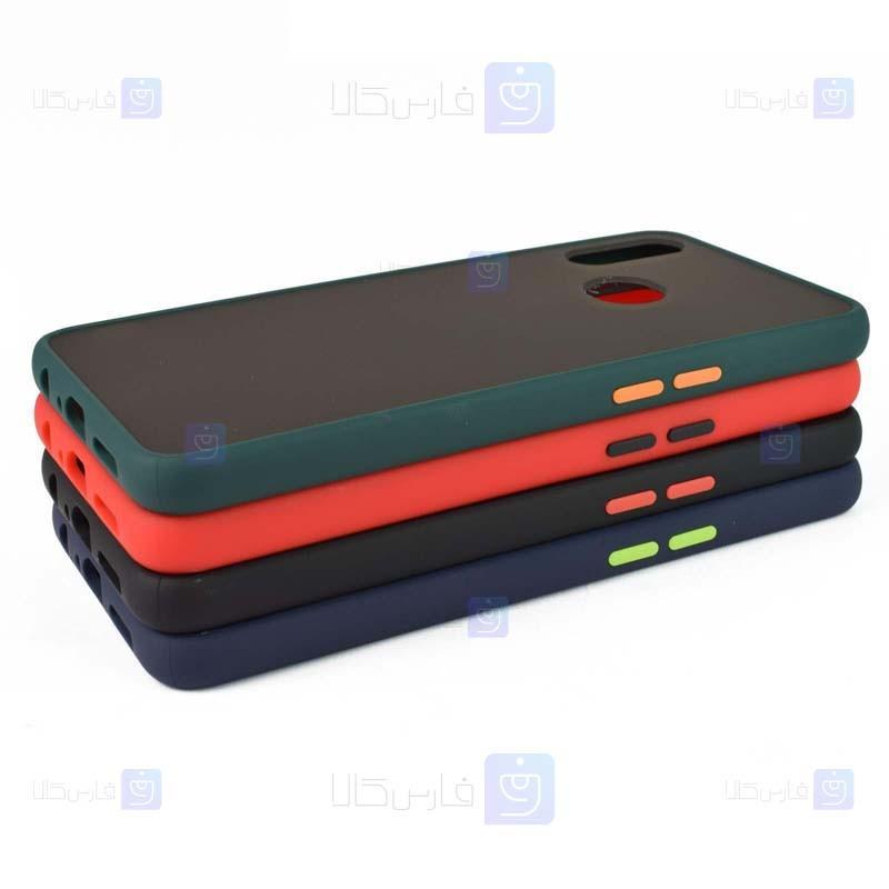 قاب محافظ پشت مات موتورولا Transparent Hybrid Case Motorola One Action