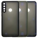 قاب محافظ مات با محافظ لنز هواوی Transparent Hybrid Case With Lens Protector Huawei Y6p 2020
