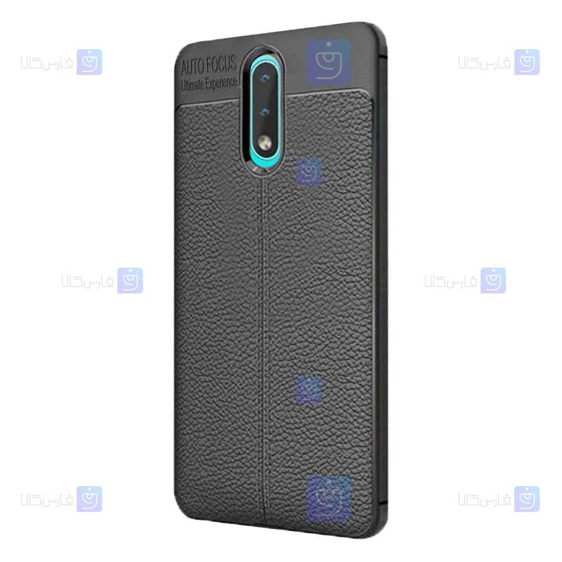 قاب ژله ای طرح چرم نوکیا Auto Focus Jelly Case For Nokia 2.3
