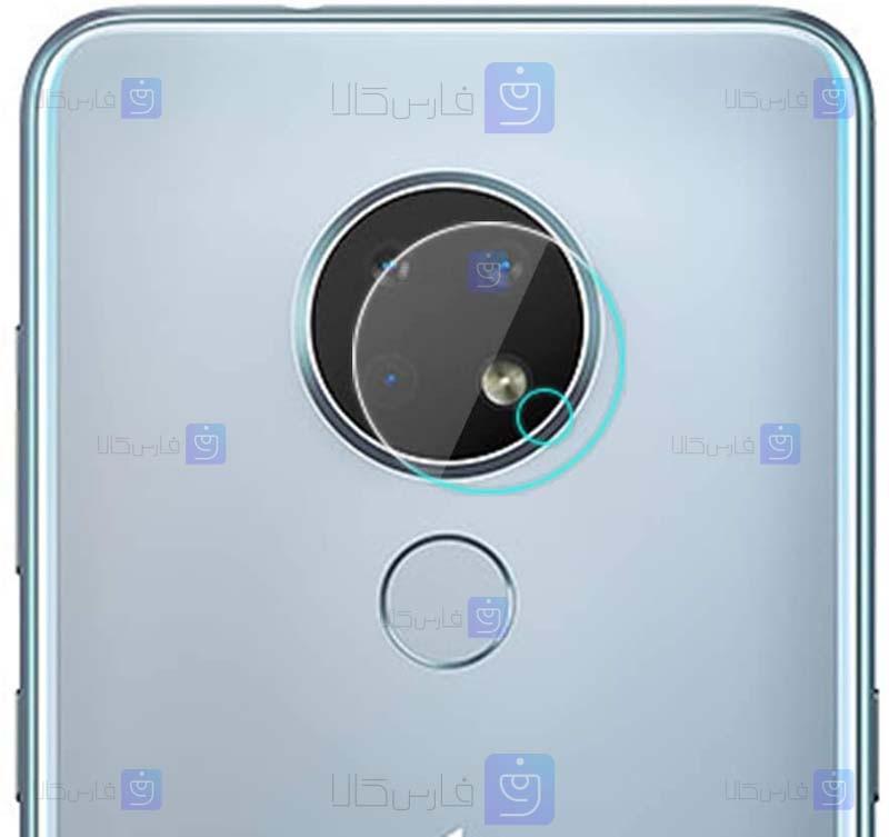 محافظ لنز سرامیکی دوربین نوکیا Ceramic Flexible Lens Protector For Nokia 7.2