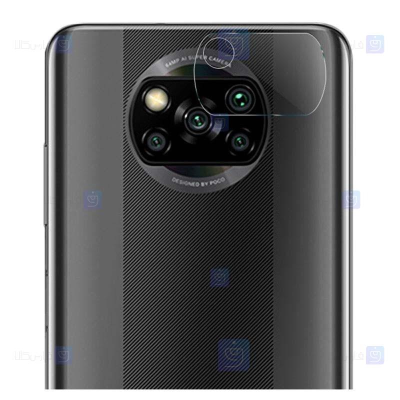 محافظ لنز سرامیکی دوربین موبایل شیائومی Ceramic Flexible Lens Protector For Xiaomi Poco X3 NFC