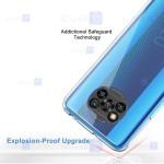 قاب محافظ ژله ای با محافظ لنز شیائومی Clear Jelly Case With lens Protector For Xiaomi Poco X3 NFC