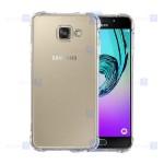 قاب محافظ ژله ای کپسول دار 5 گرمی سامسونگ Clear Tpu Air Rubber Jelly Case For Samsung Galaxy A5 2016