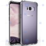 قاب محافظ ژله ای کپسول دار 5 گرمی سامسونگ Clear Tpu Air Rubber Jelly Case For Samsung Galaxy S8 Plus