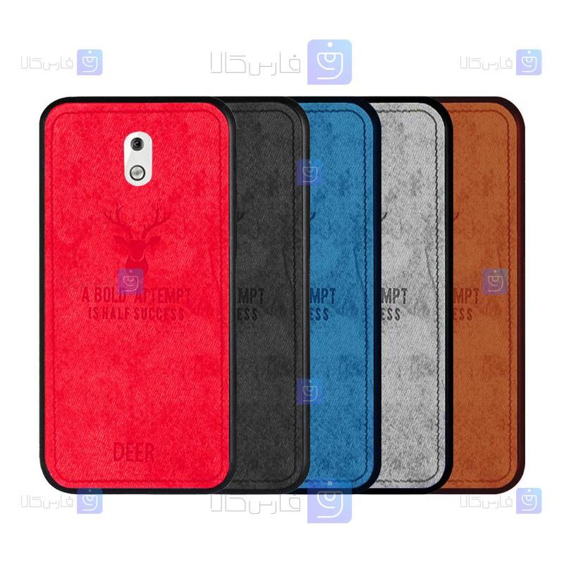 قاب محافظ طرح گوزنی نوکیا Deer Case For Nokia 2.1
