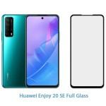 محافظ صفحه نمایش شیشه ای تمام چسب با پوشش کامل هواوی Full Glass Screen Protector For Huawei Enjoy 20 SE