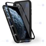 قاب محافظ مگنتی اپل Glass Magnetic 360 Case Apple iPhone 12