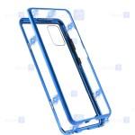 قاب محافظ مگنتی سامسونگ Glass Magnetic 360 Case Samsung Galaxy A51