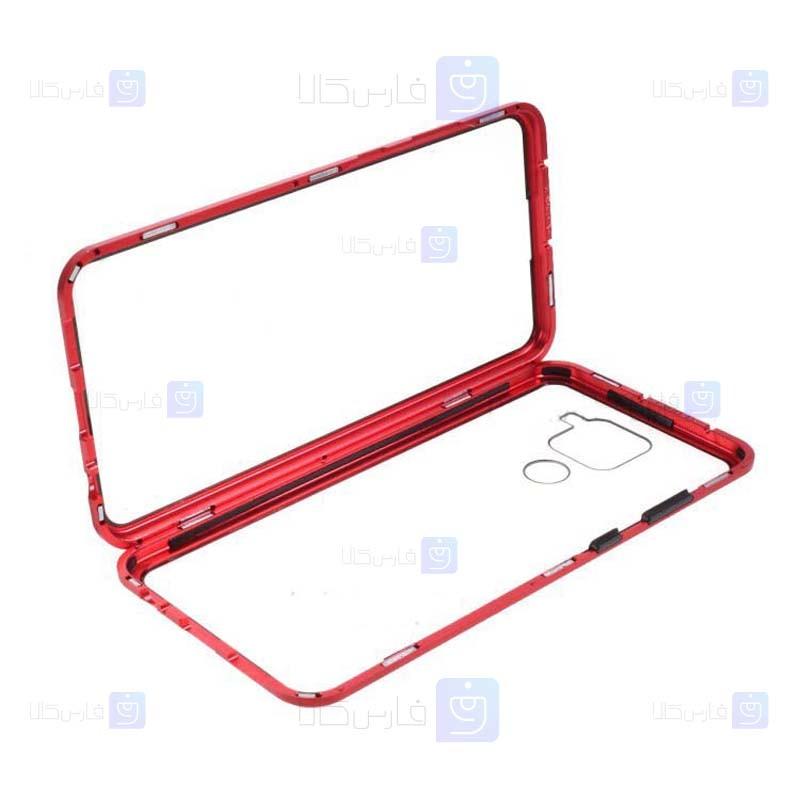 قاب محافظ مگنتی شیائومی Glass Magnetic 360 Case Xiaomi Redmi 10X 4G