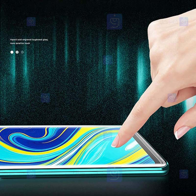 قاب محافظ مگنتی شیائومی Glass Magnetic 360 Case Xiaomi Redmi Note 9 Pro