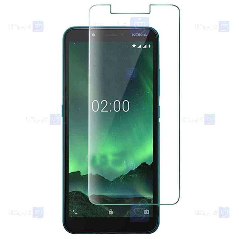 محافظ صفحه نمایش شیشه ای نوکیا Glass Screen Protector For Nokia C2