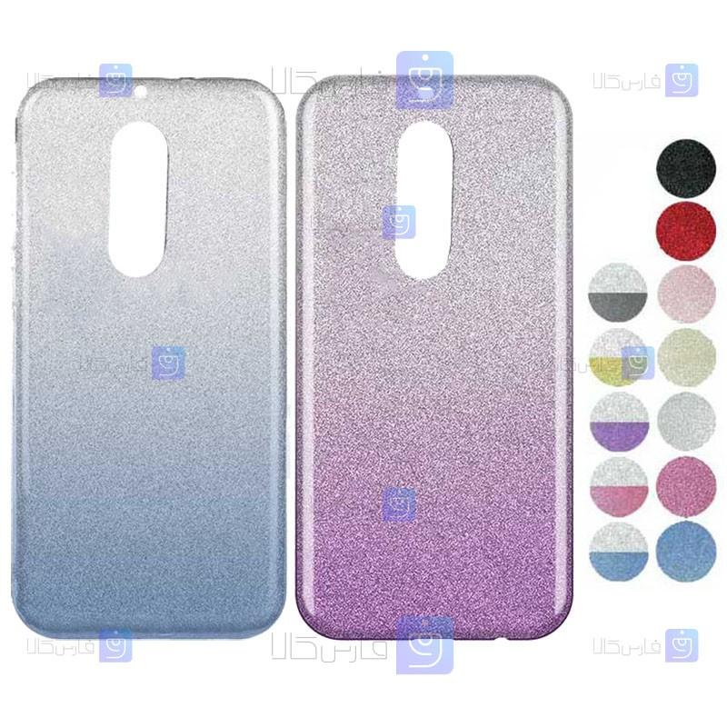 قاب ژله ای اکلیلی نوکیا Glitter Gradient Color Alkyd Jelly Case Nokia 5