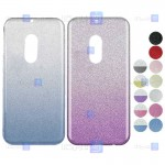 قاب ژله ای اکلیلی نوکیا Glitter Gradient Color Alkyd Jelly Case Nokia 6
