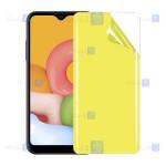 محافظ صفحه نانو Samsung Galaxy A01 مدل تمام صفحه