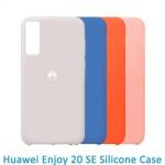 قاب محافظ سیلیکونی هواوی Silicone Case For Huawei Enjoy 20 SE