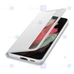 کیف هوشمند اصلی سامسونگ Smart Clear View Cover For Samsung Galaxy S21 Ultra