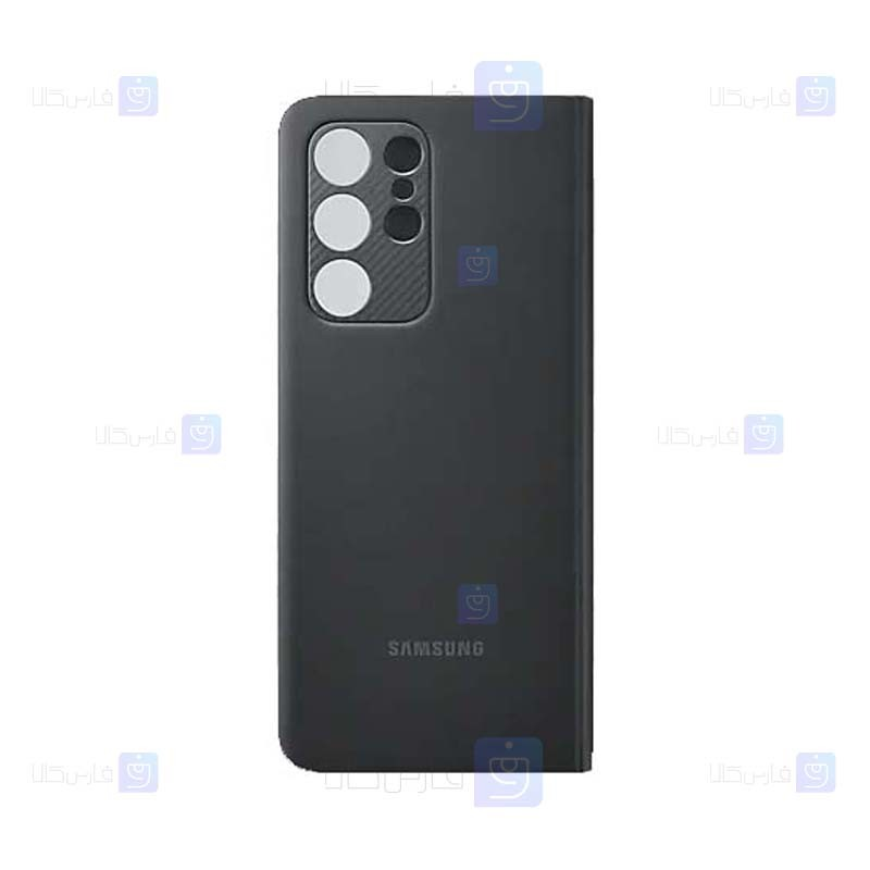 کیف هوشمند اصلی سامسونگ Smart Clear View Cover For Samsung Galaxy S21 Ultra