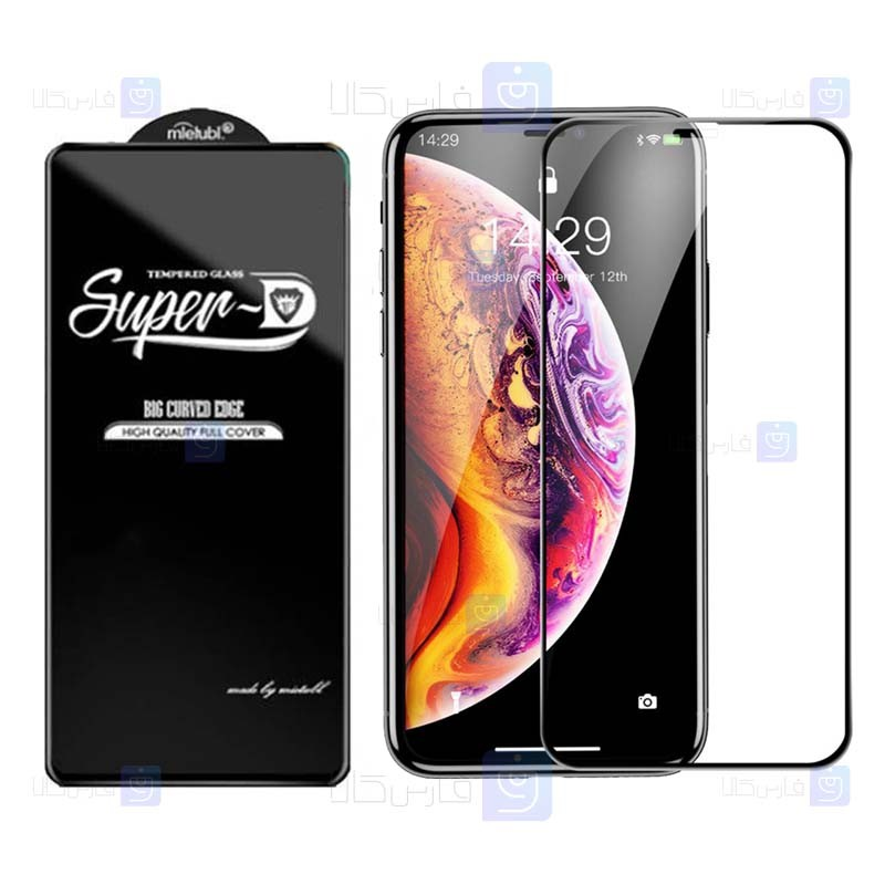 گلس گوشی اپل Super D Full Glass Screen Protector For Apple iPhone Xs