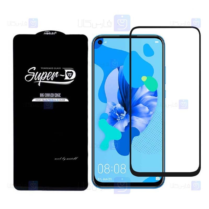 گلس گوشی هواوی Super D Full Glass Screen Protector For Huawei nova 5T