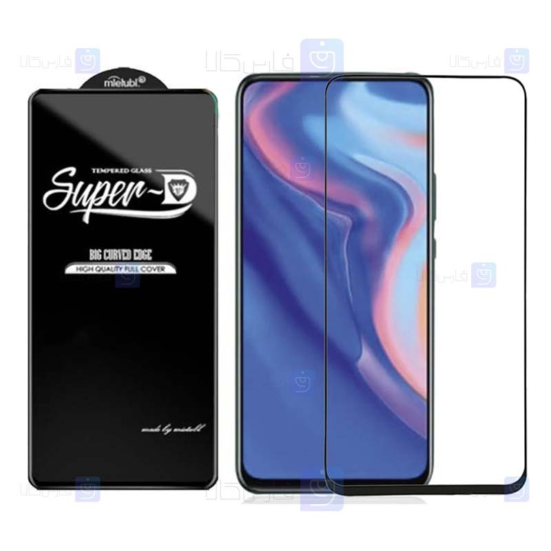 گلس گوشی هواوی Super D Full Glass Screen Protector For huawei honor 9x