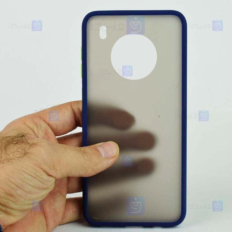 قاب محافظ پشت مات هواوی Transparent Hybrid Case Huawei Y9a