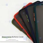 قاب محافظ مات با محافظ لنز هواوی Transparent Hybrid Case With Lens Protector Huawei Y9a