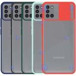 قاب محافظ مات با محافظ لنز سامسونگ Transparent Hybrid Matte CamShield Case for Samsung Galaxy A31
