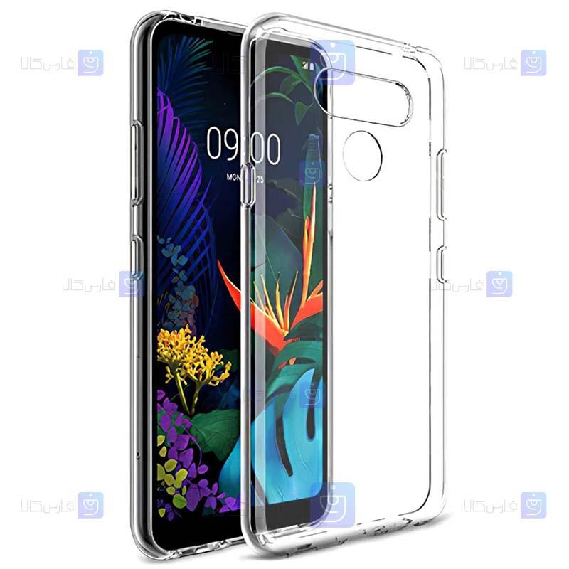 قاب محافظ شیشه ای- ژله ای ال جی Belkin Transparent Case For LG Q8