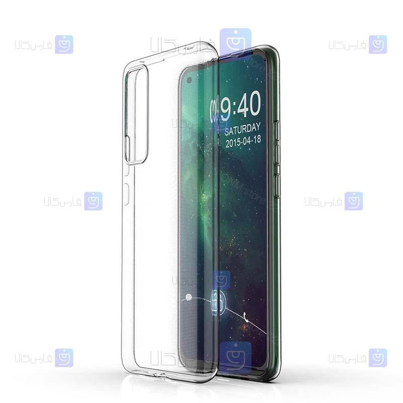 قاب محافظ ژله ای 5 گرمی هواوی Clear Jelly Case For Huawei Nova 7 SE