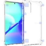 قاب محافظ ژله ای کپسول دار 5 گرمی سامسونگ Clear Tpu Air Rubber Jelly Case For Samsung Galaxy Note 20