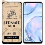محافظ صفحه نمایش مات سرامیکی تمام صفحه هواوی Full Matte Ceramics Screen Protector Huawei Nova 6 SE